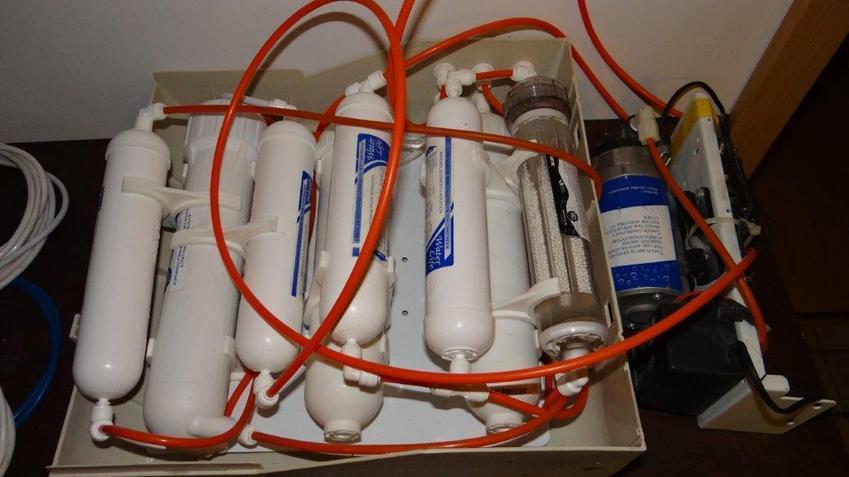 Filtr odwróconej osmozy do akwarium, a także porady i odwrócona osmoza