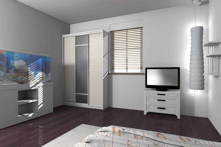 Akwarium wbudowane w ścianę w sypialni, a także porady, praktyczne wskazówki oraz różne opinie