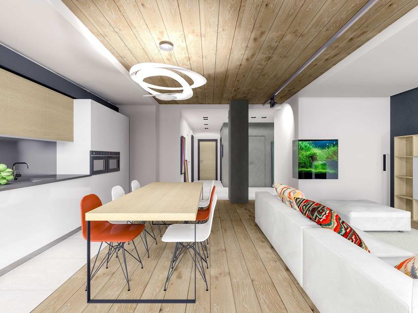 Akwarium narożne w ścianie w nowoczesnym salonie, a także informacje, umieszczenie, ceny i opinie