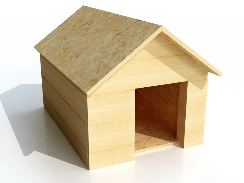 Model drewnianej budy dla psa, a także TOP 3 projekty budy dla psa krok po kroku